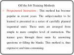 off the job training methods3