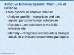 adaptive defense system third line of defense