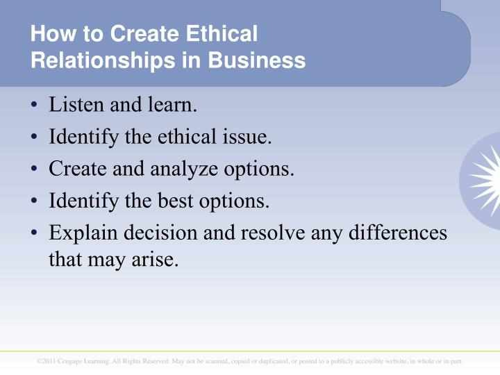 explain the ethical issues a business Ethical issues in community interventions 1992 a discussion of the concept of self in law, and how that affects issues of ethics and confidentiality.