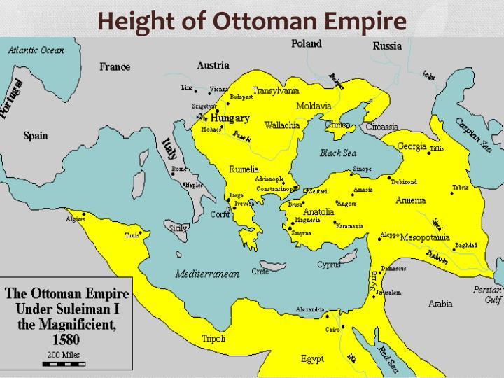 Height of Ottoman Empire