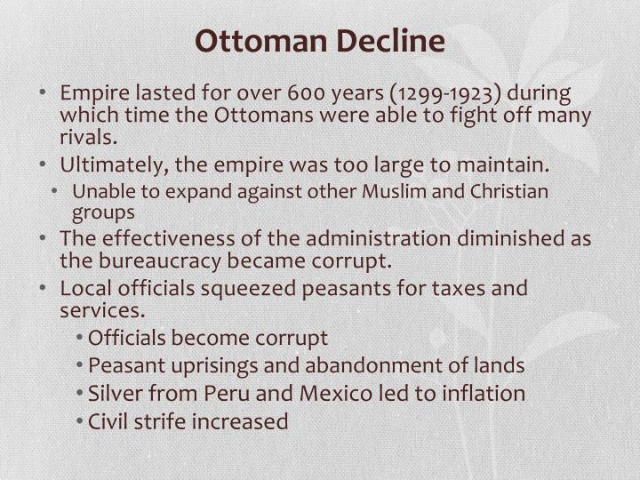 Ottoman Decline