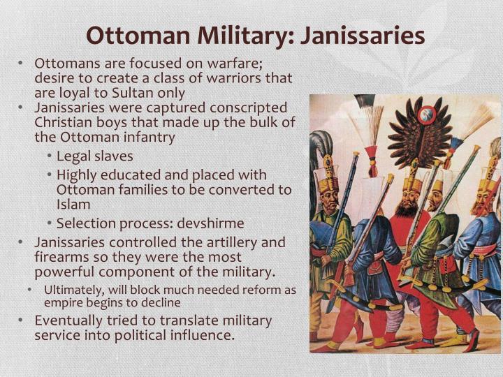 Ottoman Military: Janissaries