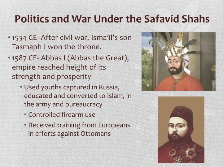 Politics and War Under the