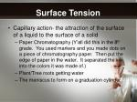 surface tension1