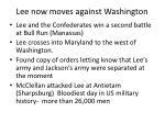 lee now moves against washington