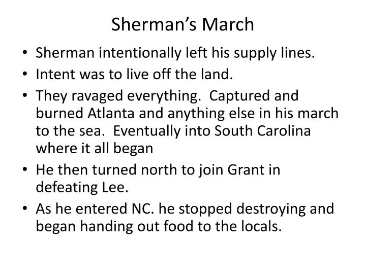 Sherman's March