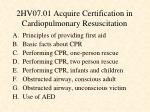 2hv07 01 acquire certification in cardiopulmonary resuscitation1