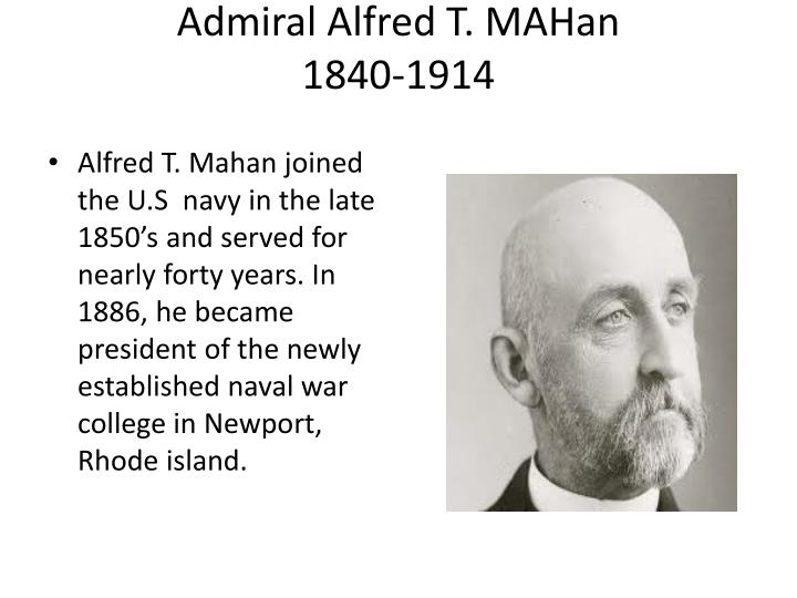 Admiral Alfred T.