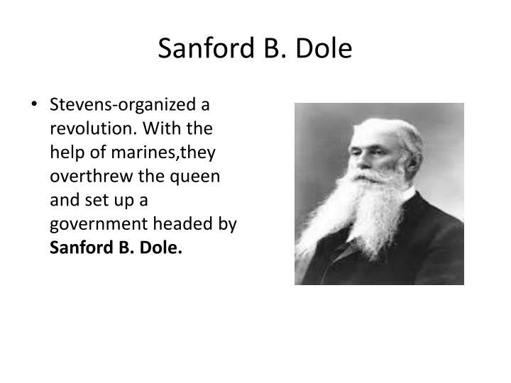 Sanford B. Dole