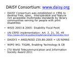 daisy consortium www daisy org