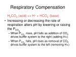 respiratory compensation1