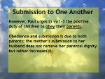 submission to one another13