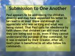 submission to one another17