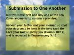 submission to one another19