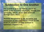 submission to one another27