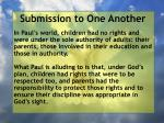 submission to one another28