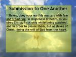 submission to one another31