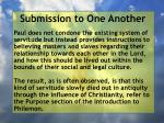 submission to one another33