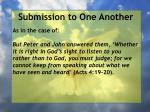 submission to one another35