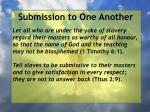 submission to one another38