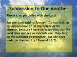 submission to one another52