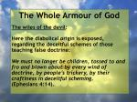 the whole armour of god11