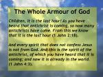 the whole armour of god13