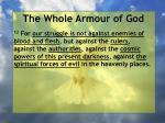 the whole armour of god15