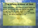 the whole armour of god17