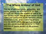 the whole armour of god18