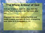 the whole armour of god19