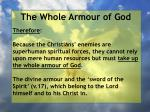 the whole armour of god21