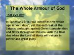 the whole armour of god25