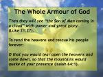 the whole armour of god27