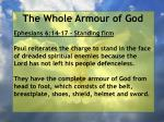 the whole armour of god30