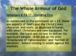 the whole armour of god32