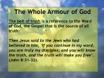 the whole armour of god35