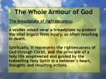 the whole armour of god37