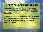 the whole armour of god40