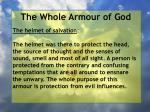 the whole armour of god47