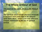 the whole armour of god48
