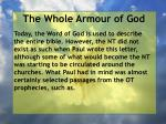the whole armour of god50