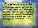 the whole armour of god51
