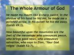 the whole armour of god53