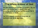 the whole armour of god62