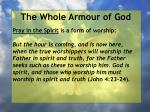 the whole armour of god63