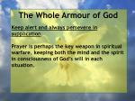 the whole armour of god65