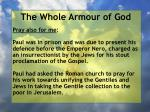 the whole armour of god67
