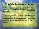 the whole armour of god7
