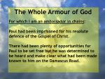 the whole armour of god76